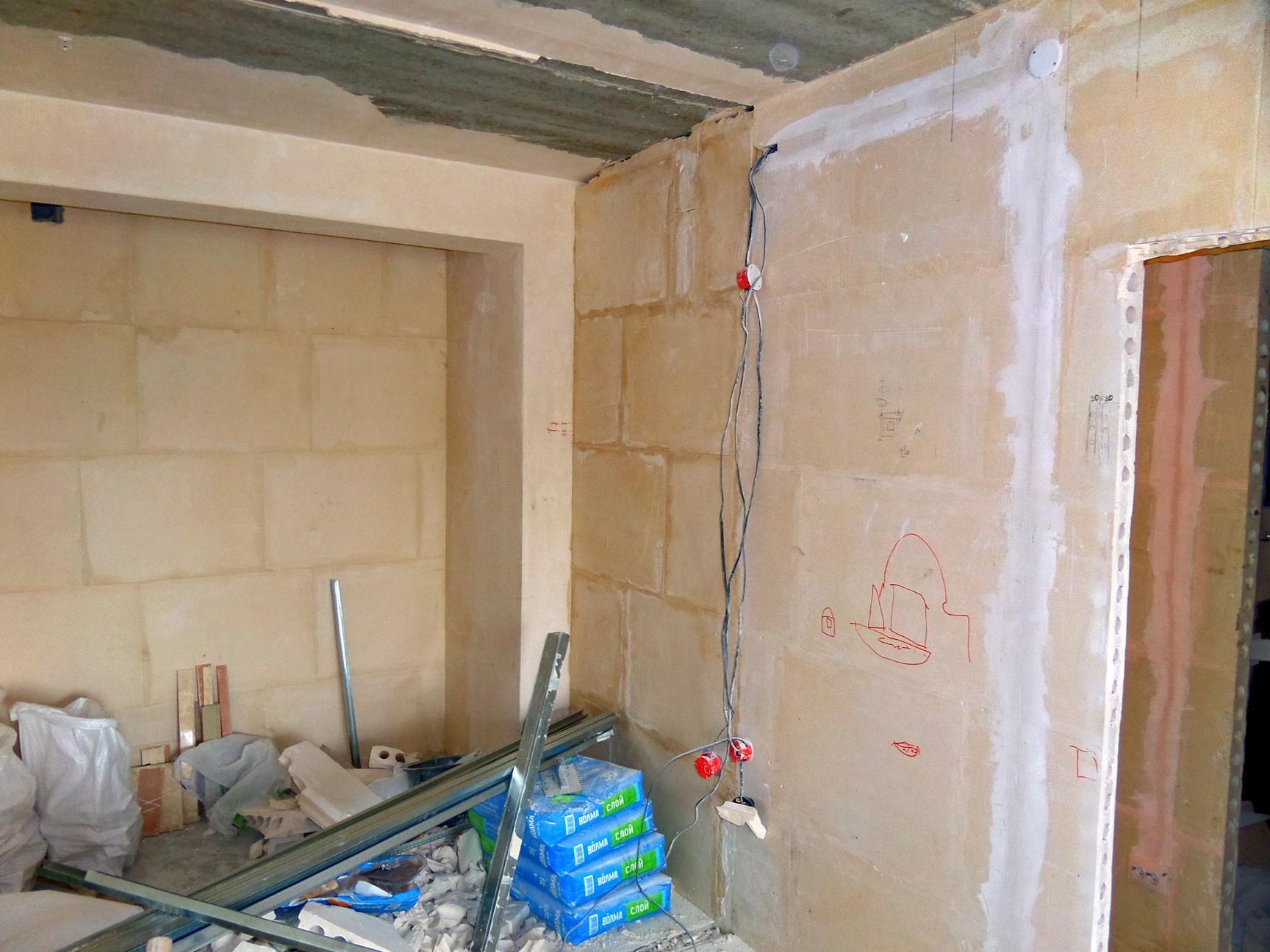 Пошаговый ремонт квартиры в новостройке своими руками 923