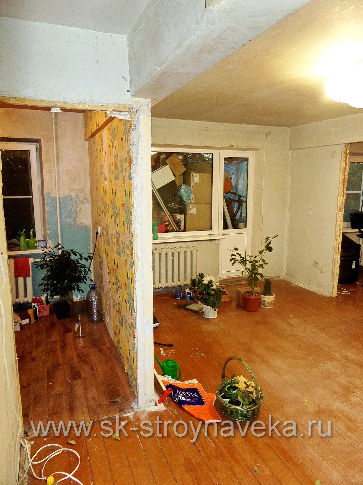 Ремонт квартир эконом класса в Москве под ключ - цены